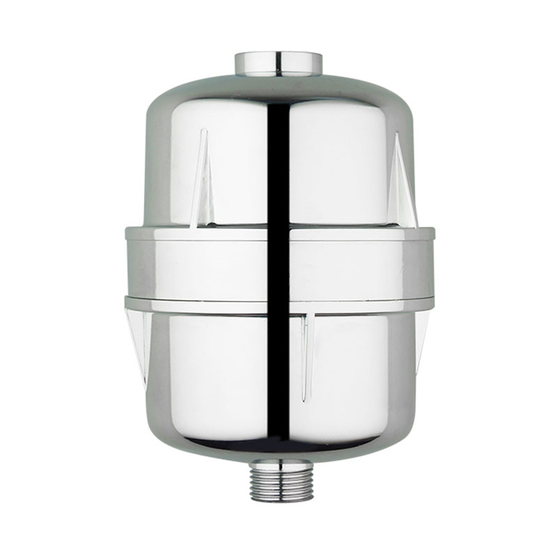 High Output Universal household big shower filter chrome1