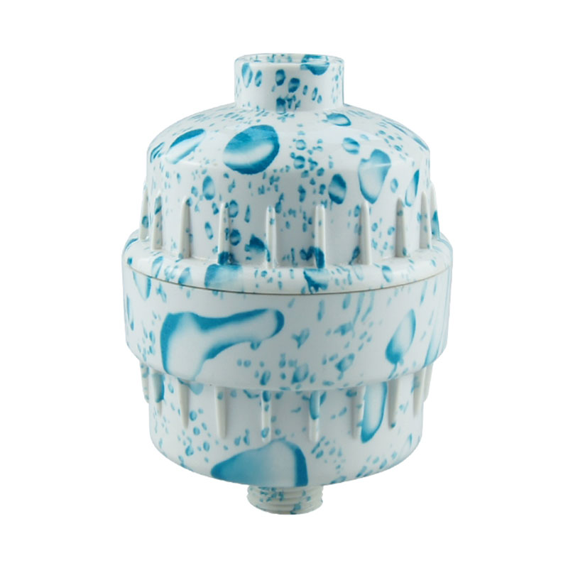 Shower water color filter bath water purifier